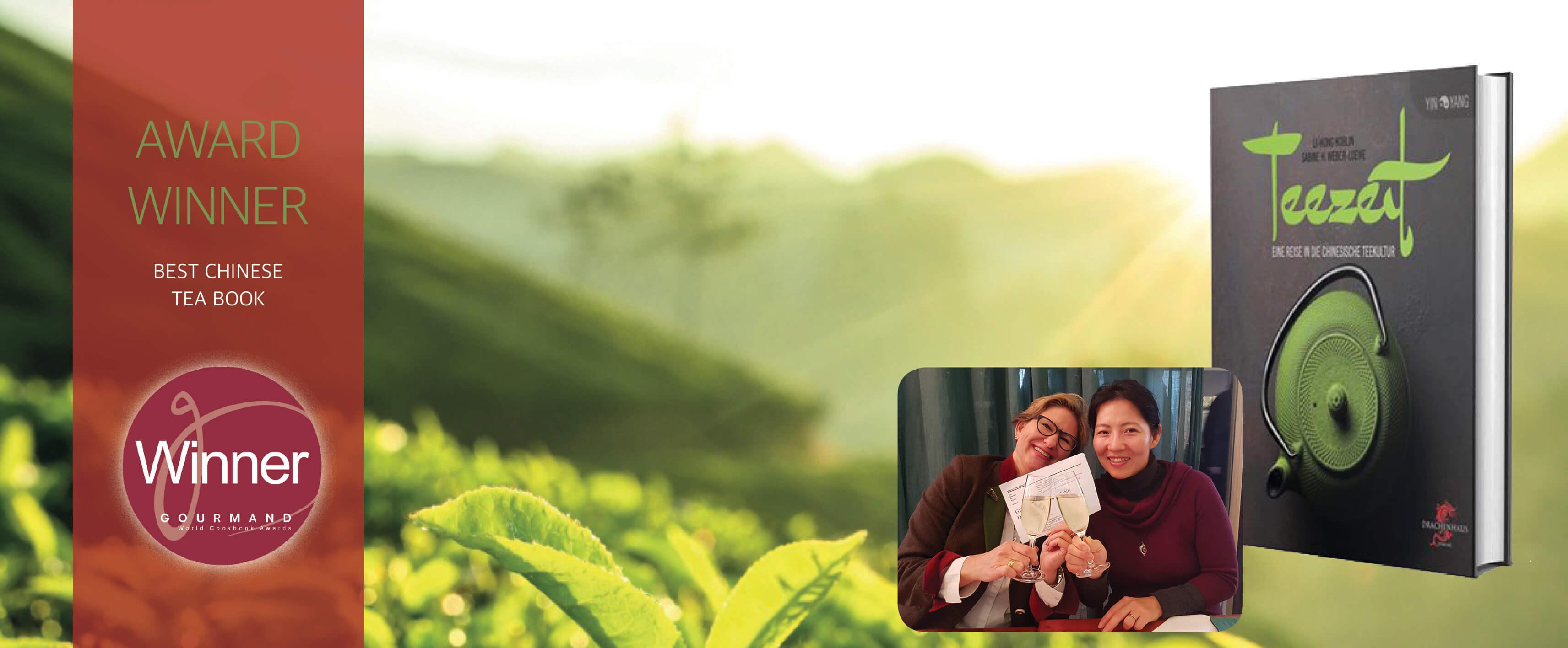 Ein Prosit auf das beste Teebuch der Welt!