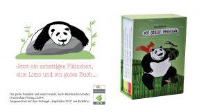 Der Große Pandabär von Ana Obtresal