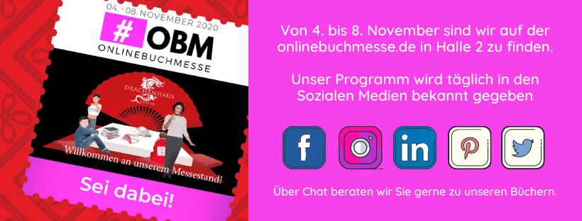 onlinebuchmesse.de, #OBM2020, Drachenhaus Verlag